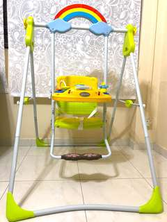 BabyOne Swing With Electronic Toys and Music