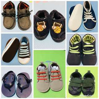 Baby shoes (take all) 0-4 months