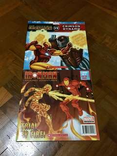 Iron man books