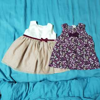 Baby dress and top