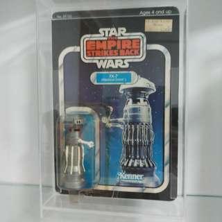 **Price Reduced** Vintage Star Wars ESB FX-7 Medical Droid Unpunched 31cardback