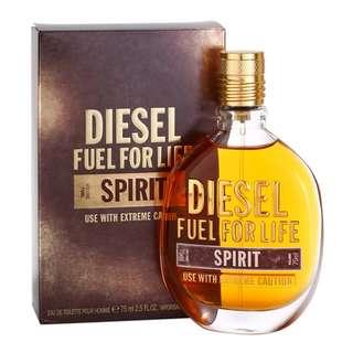 DIESEL FUEL FOR LIFE SPIRIT EDT FOR MEN 75ML