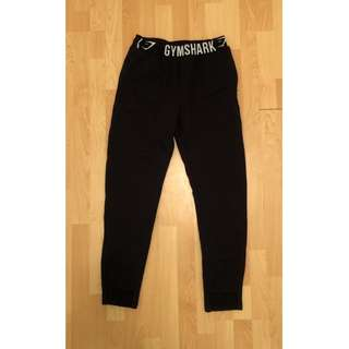 Gymshark Winter Tracksuit Bottoms (Joggers) - Black / Small