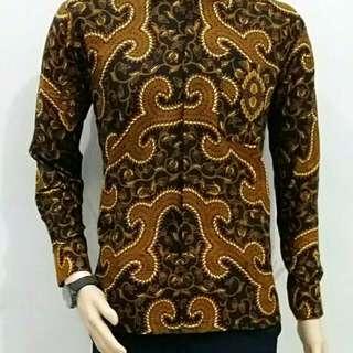 Kemeja Batik Pria - Lengan Panjang
