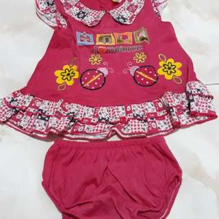 Set baju pink