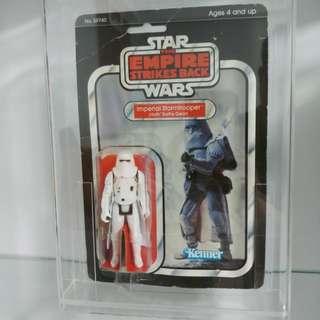 **Price Reduced** Vintage Star Wars ESB Imperial Stormtrooper Punched 31 cardback