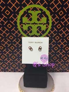 Tory burch gemini stud earrings