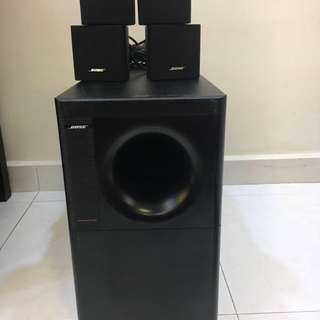 Bose acoustimass 5 series iv powered speaker system