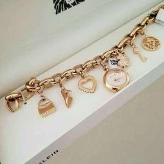 Authentic Anne Klein Women's charm bracelet
