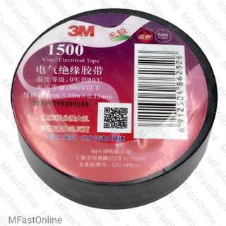3M Temflex 1500 Black Insulation Tape