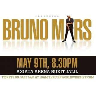 Bruno Mars 24k Magic World Tour 2018 in Malaysia