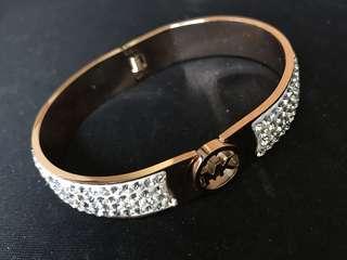 MK diamond bracelet