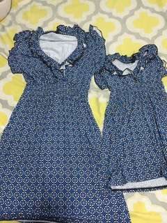 Pre loved Mom and Daughter Matchy-Matchy