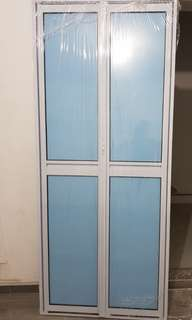 Acrylic toilet door