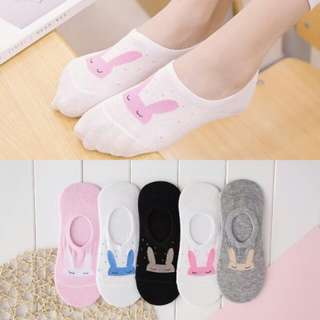 Rabbit Cutie Foot Socks