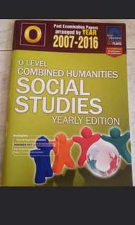 O Level Combined Humanities Social Studies