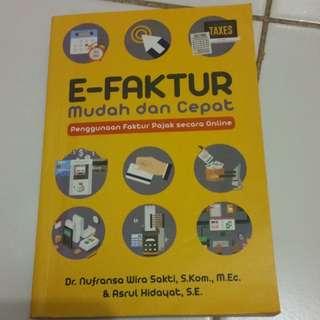Buku e-Faktur mudah & cepat