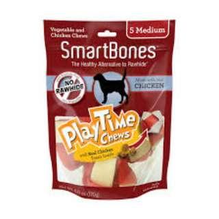 SALE - SmartBones Playtime Chews Original Chicken Medium (5 pcs)