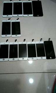 Iphone 蘋果5.蘋果6 螢幕總成 (零件機拆下)