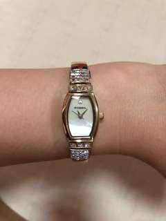 Fossil Swarovski crystal bangle watch