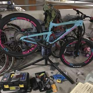 Mtb/fatbike/roadbike bike servicing and installation service