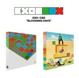 EXO CBX - Blooming Days (Second Mini Album)