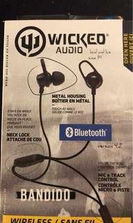 Wicked audio wireless headphones brand new