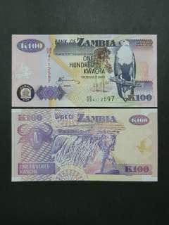 Zambia 100 Kwacha 🇿🇲 !!!
