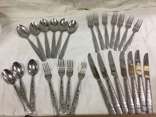 cambridge spoon and fork