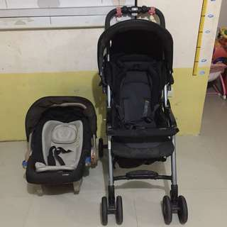 Combi 2in1 Stroller and Car Seat
