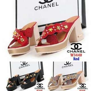Block Heels Chanel W3440