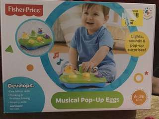 Musical Pop up eggs