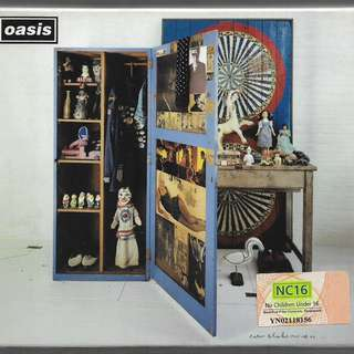 MY PRELOVED NEAR MINT CD/DVD OF0 OASIS.  THIS IS A 2 DISCS CDS - PLAYED ONLY ONCE BEFORE/ FREE DELIVERY (IN BOX F3S)