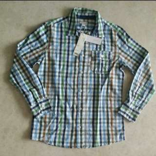 Esprit Long Sleeves Checkered Shirt