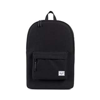 [FREE POSTAGE] ✔Herschel Bag Classic Backpack (Black)