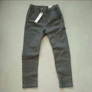 Esprit Grey Draw String Pants - 9 years old