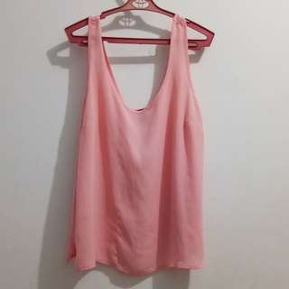 Pink sheer top (Forever 21) ADULT clothing