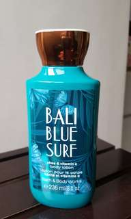 bath & body works (bali blue surf)