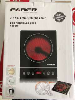 Induction Cooker with Free Bbq Rack