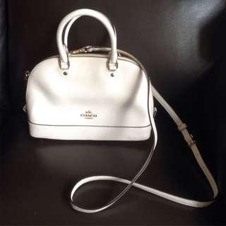 Coach classic white bag 白色袋