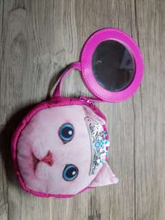 Smiggle purse / kitty pink wallet