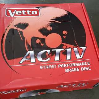 Vetto Slotted Disc Rotor for GS300