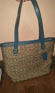 Coach bag made from US