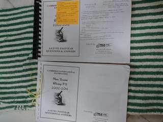 CAL Biology Paper 5