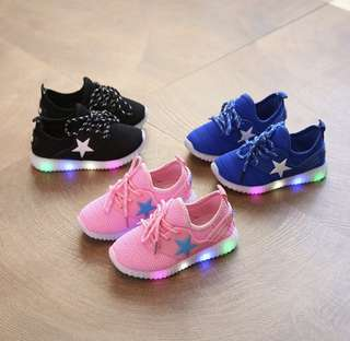 PO - Children Shoes with Light (1018)