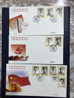 China Stamp-2002-17 A/B FDC