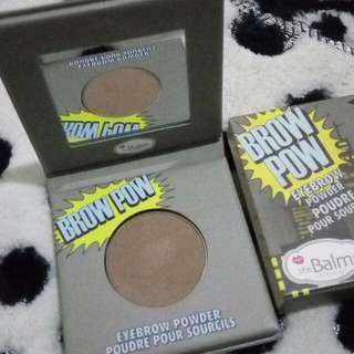 The Balm powder brow