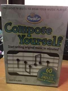 Thinkfun Compose Yourself 學作曲遊戲