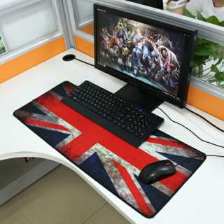 Vintage Flag Style Mouse Pad