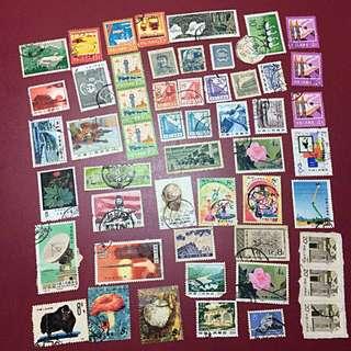 中國郵票 信銷一堆 不求質素